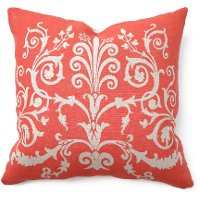 Burnt Orange Tuscan Throw Pillow