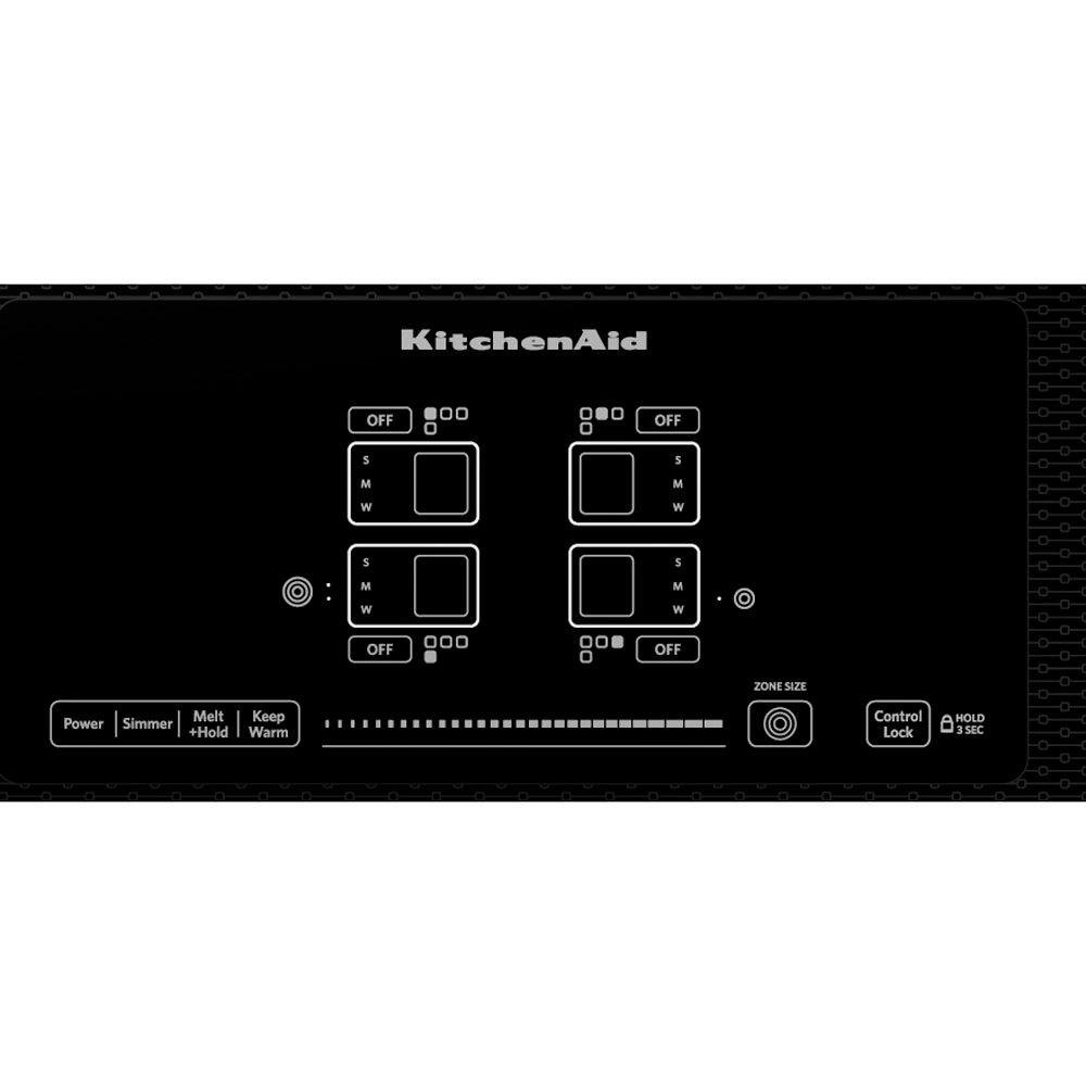 KitchenAid 30 Inch Smoothtop Electric Cooktop   Black | RC Willey Furniture  Store
