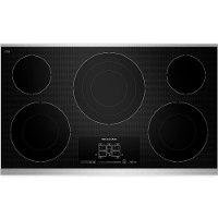 KECC667BSS KitchenAid 36 Inch Black Electric Cooktop