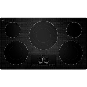 kecc667bbl kitchenaid 36 smoothtop electric cooktop