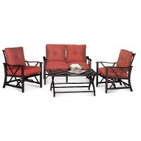 Haywood 4 Piece Patio Seating Set Rc Willey Furniture Store