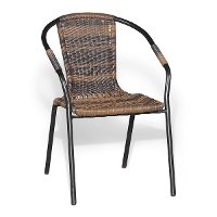 Wicker Patio Chair - Napoli