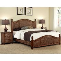 Cinnamon Queen 4 Piece Bedroom Set   Marco Island ...