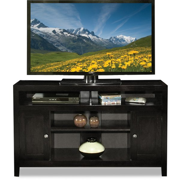 ... 60 Inch Charcoal TV Stand   Del Mar