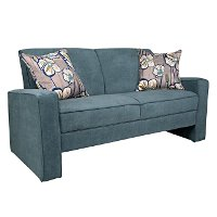 BFCEC-S144-CPR54A angelo:Home Blue Upholstered Sofa