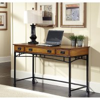 Oak Executive Desk - Modern Craftsman