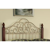 Gold Full/Queen Headboard - St. Ives