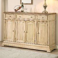 Light Brown Dining Room Sideboard - Quails Run