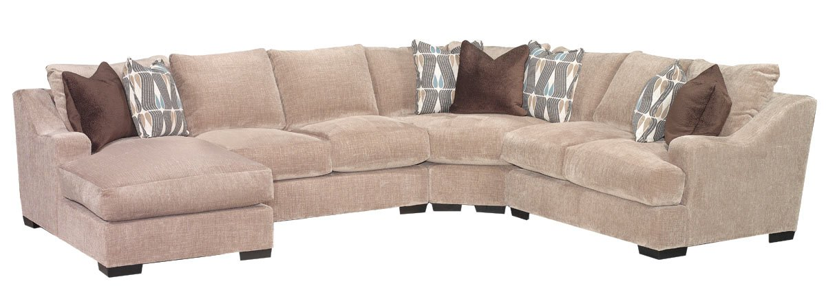 Brown Casual Classic 4 Piece Sectional - Monarch ...  sc 1 st  Image Viewer : monarch sectional - Sectionals, Sofas & Couches