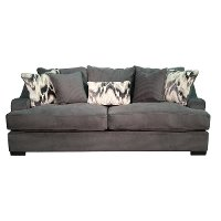 Charcoal Gray Casual Modern Sofa - Spartan