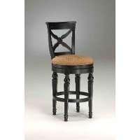 4439-826W Black/Honey 26 Inch Counter Stool - Northern Heights