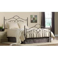 1300BKR Bronze King Metal Bed - Oklahoma