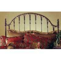 1239HFQR Traditional Bronze Queen Headboard - Tyler
