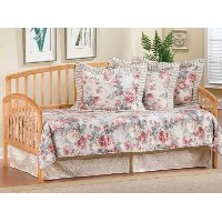 1108DBLHTR Pine Twin Daybed with Roll-Out Trundle - Carolina