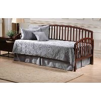 1593DBLHTR Cherry Twin Daybed with Roll Out Trundle - Carolina