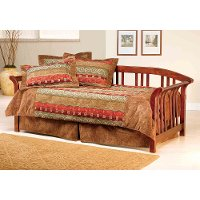 1104DBLHTR Country Pine Daybed with Roll Out Trundle - Dorchester