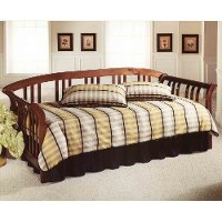 287DBLHTR Brown Cherry Daybed with Roll Out Trundle - Dorchester