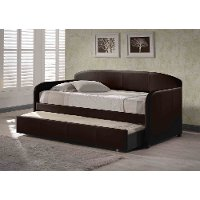 1613DBT Brown Daybed with Trundle - Springfield