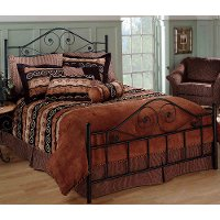 Harrison Black King Metal Bed Rc Willey Furniture Store