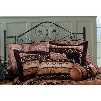 1403HKR Black King Metal Headboard - Harrison