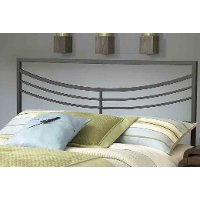 1503HFQR Brown Queen Metal Headboard - Kingston
