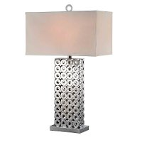 Metal Washer Table Lamp