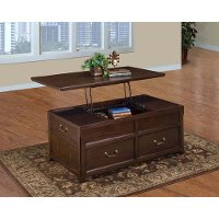 Brown Lift Top Wood Coffee Table - Timber