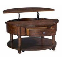 Lift Top Wood Coffee Table Attic Heirloom Rc Willey