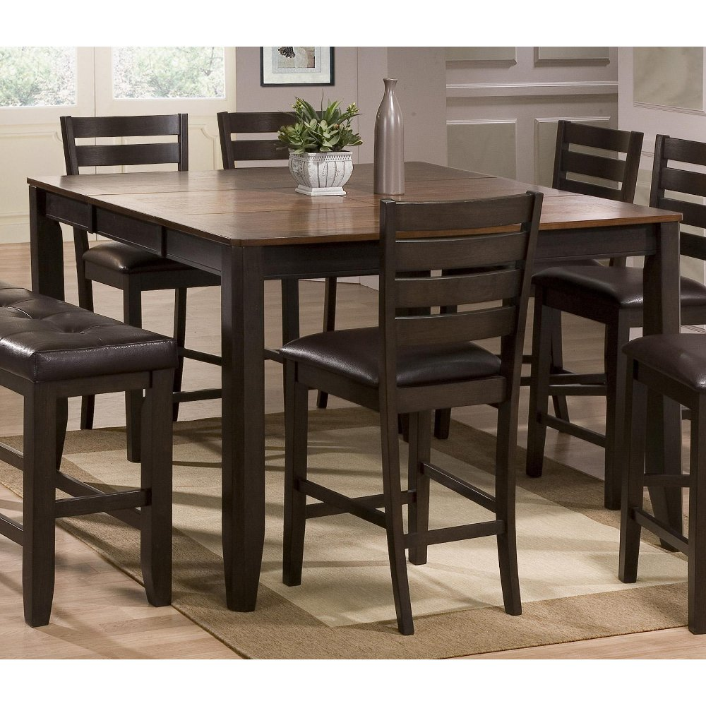 Beautiful ... Brown Counter Height Dining Table   Elliott Collection