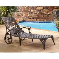 Bronze Chaise Outdoor Lounge Chair - Biscayne