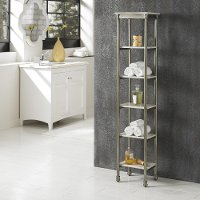 Multi-Purpose 6-Tier Storage Shelf - Orleans Marble