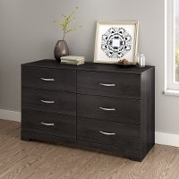 3137010 Step One Gray Oak Double Dresser
