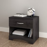 3137062 Gray Oak Drawer Nightstand - Step One