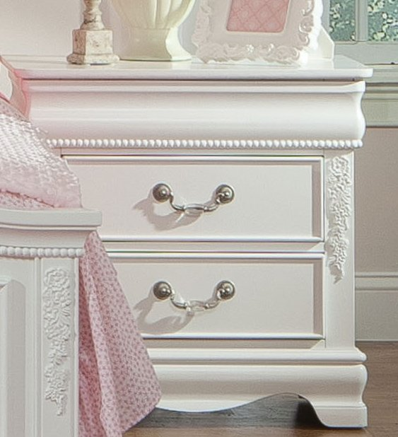 White Traditional 6 Piece Full Bedroom Set - Jessica | RC Willey ...