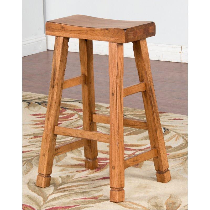 Saddle Seat Bar Stool 30 Inch Sedona