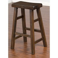 Saddle Seat Bar Stool (30 Inch) - Santa Fe