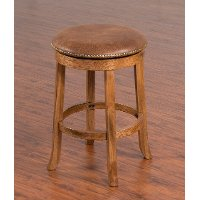 Swivel Counter Height Bar  Stool (24 Inch) - Sedona