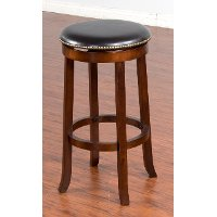 Swivel Bar Stool 30 Inch Cappuccino Rc Willey