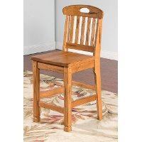 Slatback Counter Stool (24 Inch) - Sedona