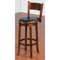 Swivel Counter Stool (30 Inch) - Cappuccino