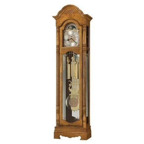 Brownman Oak Floor Clock
