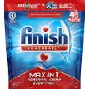 FINISH-DTGT Finish Max In 1 Powerball Dishwasher Detergent Tablets - 43 Tabs