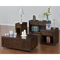Sunny Designs Storage End Table