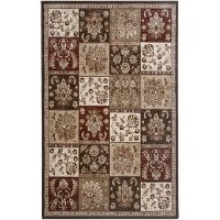 Brown 5' x 8' Galleria Area Rug