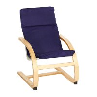Blue Kiddie Rocker - Upholstered Rockers