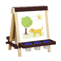 Guidecraft Wooden Table Top Easel