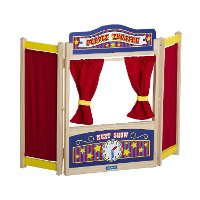 Wooden Table Top Theater - Dramatic Play