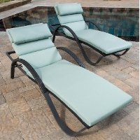 OP-PEAL-DEC-2E-BLS-K Blue Loungers 2-Pack - Deco