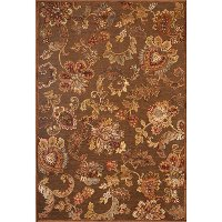 5 x 8 Medium Brown Area Rug - Napa