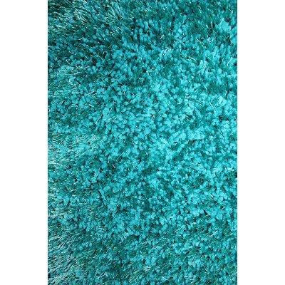Lovely 5 X 7 Medium Turquoise Area Rug   Viscose